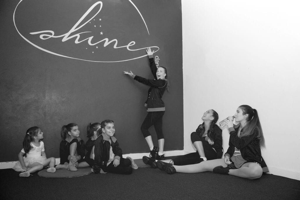 Entrance - Shine Dance Studio