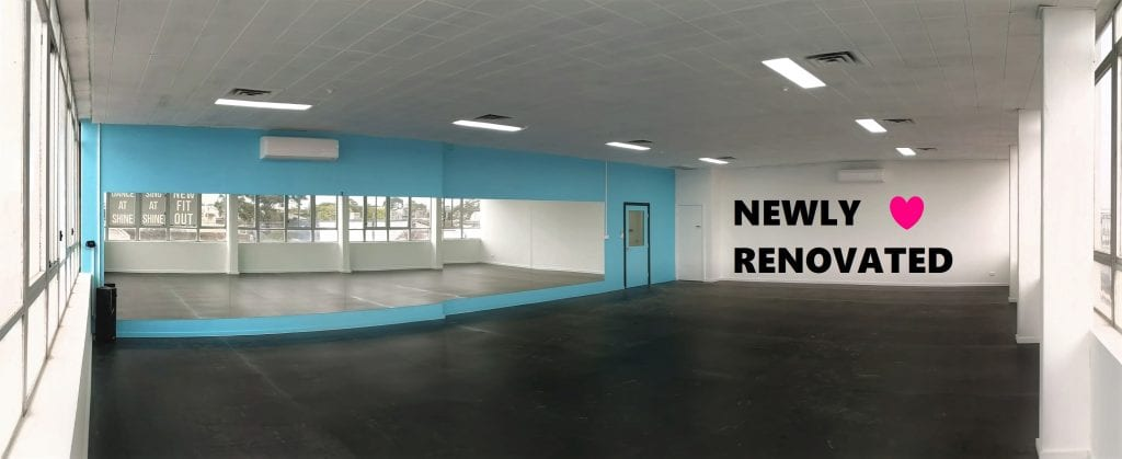 Shine Dance Studios and our all newly renovated studios.