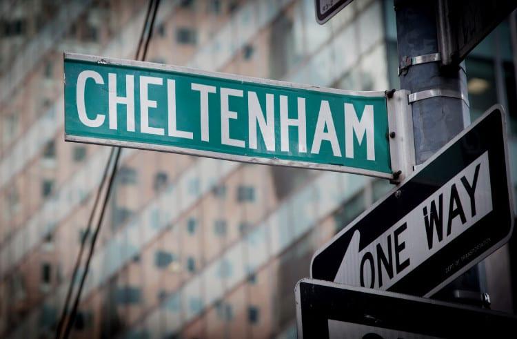 Cheltenham Street Sign